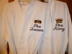 Hey, I found this really awesome Etsy listing at https://www.etsy.com/listing/285722159/king-and-queen-embroidered-robes-cotton