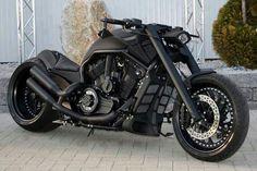 #Harley #Davidson V - Matte Black and BA