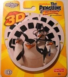 View Master-Fisher Price View-Master 3D Reels The Penguins Of Madagascar