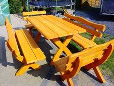 Meble ogrodowe,barowe,drewniane z drewna. Transport 100 zł – Chojnice – 158135925   Gumtree