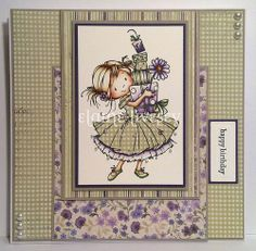Stamps and sketches #scrapbooking