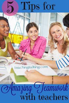 Teamwork with teache