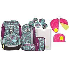 912f06102a0dc Ergobag Pack ZauBärwald Schulrucksack-Set 6tlg + Sicherheitsset Pink