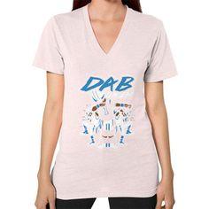 Dab On Em shirt V-Neck (on woman) Shirt