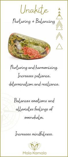 Pin To Save, Tap To Shop The Gem. What is the meaning and crystal and chakra healing properties of unakite? A stone for nurturing and balance. Nurturing and balancing.