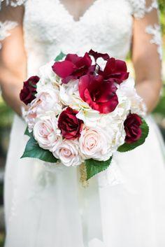 Bridal bouquet #marsala #blushpink #ivory #oma'spearls #grandma'slace Marsala, Blush Pink, Bouquet, Ivory, Bridal, Rose, Flowers, Plants, Wedding