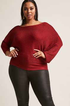 8ab9496b5cb Product Name Plus Size Ribbed Off-the-Shoulder Sweater