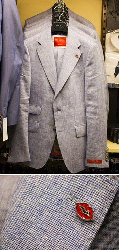 5c37764eb796 Wir haben den richtigen Anzug für dein perfektes Businessoutfit! Das coole  Sakko von Digel bildet
