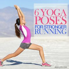 Yoga for Stronger Running - Train your legs individually and together they become a powerhouse! #yoga #workouts #running