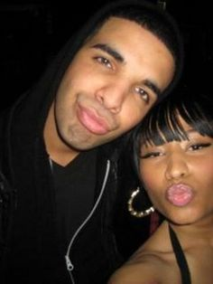 Drake And Nicki Minaj Defend Spitting Written Freestyles Drake Nicki Minaj, Nicki And Drake, Nicki Minaj Pictures, Plastic Surgery Photos, Celebrity Plastic Surgery, Kissy Face, Funny Profile Pictures, Young Money, Vintage Black Glamour