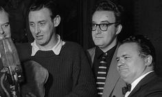 Spike Milligan, Peter Sellers and Harry Secombe in 1955.  Photograph: Hulton-Deutsch Collection/CORB