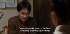 """― My So Has Got Depression (2011)""""Depression is like a cold of the heart; it will make everyone around suffer."""""""