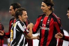 Del Piero (Juventus) & Ibrahimovic (AC Milan)