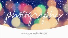 Modern Bokeh Confetti Dots Script Photography Business Cards http://www.zazzle.com/modern_confetti_dots_script_photography_business_card-240942102980608834?rf=238835258815790439&tc=GBCPhotographer1Pin
