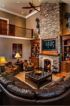 The Perfect L Couch Living Room Layout Gotta Love Rustic Home Decor