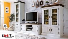 buy shabby chic furniture - Home Page Shabby Chic Furniture, Home Furniture, Furniture Design, Country Furniture, Ikea Tv Wall Unit, Country Style Living Room, Living Room Storage, Condo Living, House Rooms
