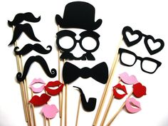Photo Booth Props, $23