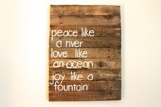 Custom PALLET Quote Sign Wall decor Wooden art by SignsFromScraps, $85.00