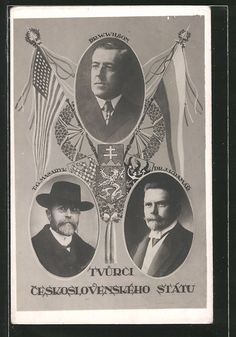President Masaryk (TGM)   Politicians / Statesmen   Founders of Czechoslovakia European Countries, African American History, Beautiful Black Women, Czech Republic, Prague, Presidents, War, Culture, Architecture