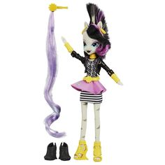 Amazon.com: My Little Pony Equestria Girls Ponymania Zecora 2014 SDCC Exclusive Doll: Toys & Games