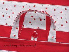 cuisine sac tarte blanc rouge fraise quiche gateau dijon couture création décoration ameublement fait main