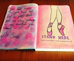 stand here wreck this journal page - Google Search