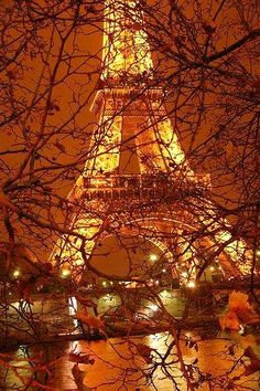 autumn nights in paris...