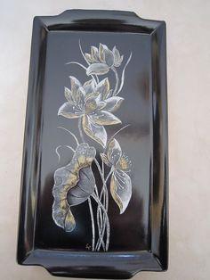 Lin Van Porcelaines Plats à tarte et à cake, fleurs, oiseaux, papillons, chats, japonnais
