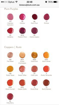 Bio Sculpture Colours