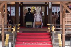 A Shinto wedding in the Hosodono pavilion of the Kamigamo Shrine (上賀茂神社): A World Heritage Site in Kyoto! #KamigamoShrine, #上賀茂神社, #Kyoto, #ShintoWedding