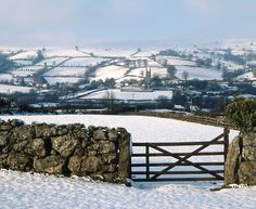 South Devon in England in the snow South Devon, Devon England, Dartmoor, English Countryside, British Isles, Winter Scenes, Natural Wonders, Great Britain, Beautiful Landscapes