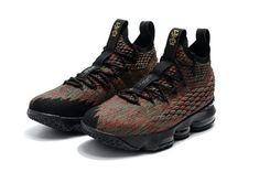 9f6586de929 2018 Nike LeBron 15 Mens Basketball Shoes BHM Multi Color Zapatos  Deportivos