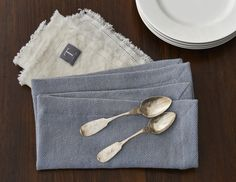 Traditions Linens Stone Washed Herringbone Tabletop Collection 2013