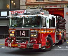 """#FDNY Engine 14 """"Sweet 14"""" is located at 14 East 18th Street in #Manhattan, #NYC Great group of guy! Well worth the visit!"""