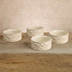 The GG Collection Ramekins - Set of 4 - New #GGCollection