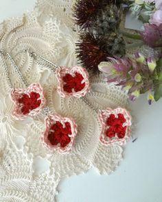 Mini Granny Earrings - free pattern