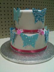 butterfly cake @Samantha Soesbe