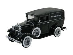 1931 Ford Panel Car Police Car diecast model car scale die cast by Signature Models - Black: 1931 Ford Panel Car Police Car diecast model car scale die cast by Signature Models - Black Police Patrol, Police Cars, Antique Trucks, Antique Cars, American Graffiti, Diecast Model Cars, Ford Models, Chevrolet Corvette, Scale Models