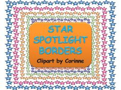Make your products POP! with my Star Spotlight Borders!  Choose from 14 brilliant, bright colors to make your products stand out among the rest!!!Set includes the following colors in PNG format for easy layering:Blue, Green, Red, Orange, Gold, Light Blue, Pink, Gray, Light Brown, Light Purple, Plum Purple, Purple, Magenta, Red, and Salmon Pink!All Star Spotlight Borders were created by me, Corinne Orozco.