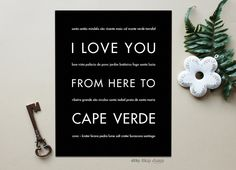 Never forget your African adventure with this unique travel poster. This Togo typography print makes a great gift for someone who has spent time in this tribal nation for an adventure, mission work, o Last Minute Travel Deals, Verde Island, Comedy Quotes, Cape Verde, Africa Art, I Love You, My Love, My Roots, Canvas Poster