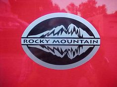 "Jeep Wrangler ROCKY MOUNTAIN DECAL STICKER 5 X 3.5"" OEM NEW MOPAR GENUINE #MOPAR"