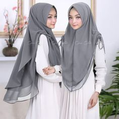 Belajar menjahit - Her Crochet Hijab Style Dress, Casual Hijab Outfit, Kebaya Muslim, Muslim Hijab, Muslim Fashion, Hijab Fashion, Cara Hijab, Modest Outfits, Girl Outfits