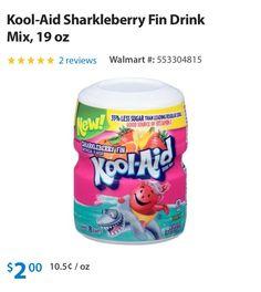 Kool aid sharkleberry fin drink