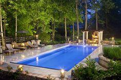 Grande Fiberglass Pool