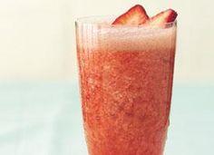 Vodka-spiked strawbe