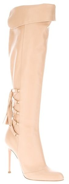 GIANVITO ROSSI Nude Leather Boot  http://gtl.clothing/a_search.php#/post/Gianvito%20Rossi/true @gtl_clothing #getthelook