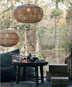 Lille Zep lampe. Shop vores mest solgte lille bambus pendel online her