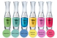 Trind Beauty & the Beach. Spring/Summer 2014 nail polish collection. #nails #trind #polish #lacquer