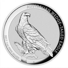 2017 1OZ AUSTRALIA WEDGE TAILED EAGLE HIGH RELIEF .9999 SILVER PROOF COIN. #LPM #LuciusPreciousMetals #Retailers #buyback #coins