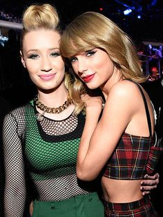 Iggy Azalea and Taylor Swift